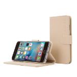 "TheSnugg B0151OOIMU 4.7"" Wallet case Beige mobile phone case"