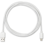 eSTUFF ES80111 lightning cable 2 m White