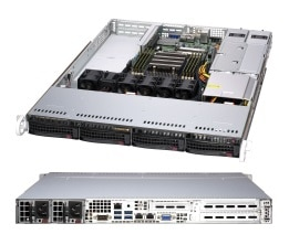 Supermicro A+ Server 1014S-WTRT Socket SP3 Rack (1U) Black
