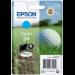 Epson Golf ball Singlepack Cyan 34 DURABrite Ultra Ink