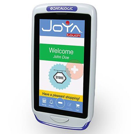 "Datalogic Joya Touch Plus 4.3"" 854 x 480pixels Touchscreen 305g Blue,Grey"