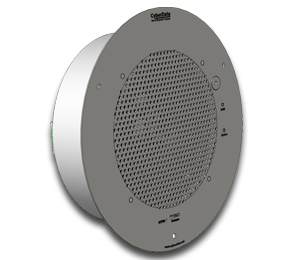 CyberData Systems 011181 White loudspeaker