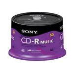 Sony 50CRM80RS CD-R 700MB 50pc(s) blank CD