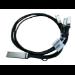 Hewlett Packard Enterprise X240 QSFP28 4xSFP28 1m InfiniBand cable