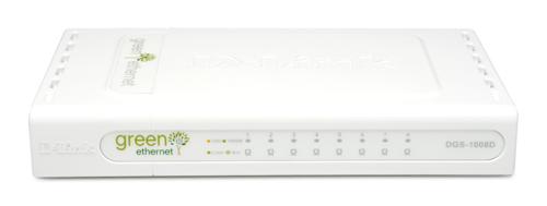 D-Link 8-port 10/100/1000Mbps Gigabit Switch Unmanaged