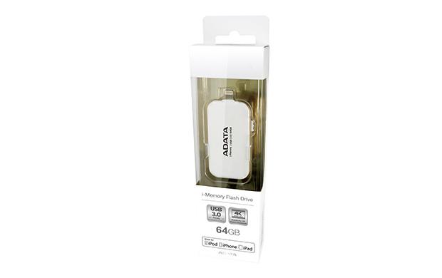 ADATA UE710 64GB 64GB USB 3.0/Lightning White USB flash drive