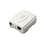Digitus USB Print Server Ethernet LAN White print server