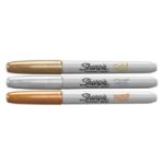 Sharpie METALLIC GLD/SLVR/BRZE