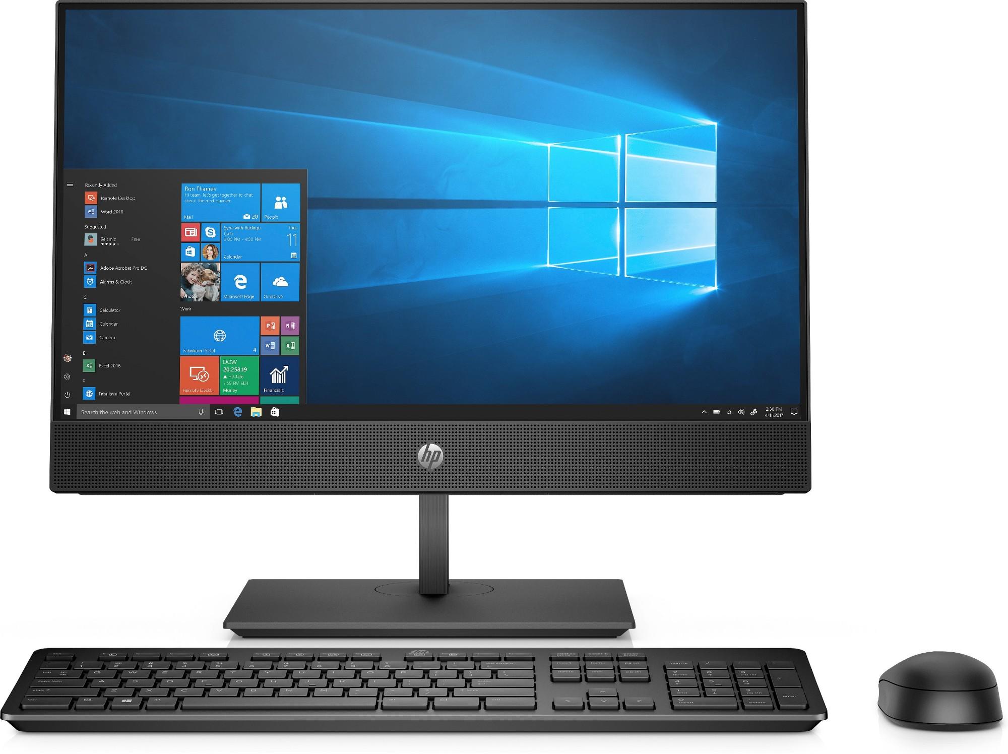 "HP ProOne 600 G4 54,6 cm (21.5"") 1920 x 1080 Pixels Touchscreen 3 GHz Intel® 8ste generatie Core™ i5 i5-8500 Zwart Alles-in-één-pc"