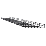 Tripp Lite SRWB12210STR10 cable tray Straight cable tray Black