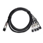 ATGBICS F5 F5-UPG-QSFP+-7M Compatible 40G QSFP+ to 4x10G SFP+ Direct Attach Copper Breakout Cable 7m Passive