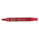 Pentel N 60 Chisel tip Red 12pc(s) permanent marker