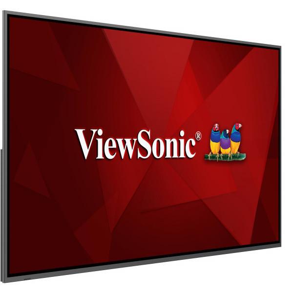 "Viewsonic CDE8620 signage display Digital signage flat panel 2.18 m (86"") IPS 4K Ultra HD Black"