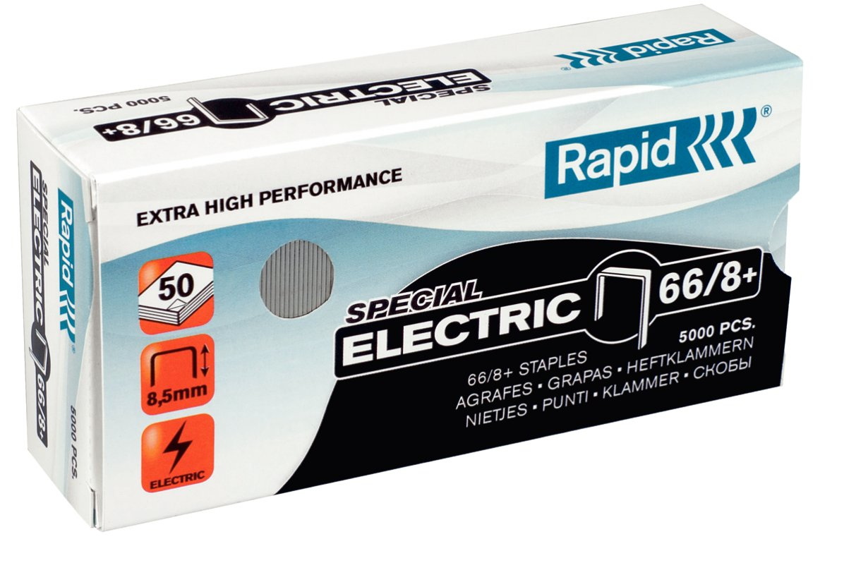 Rapid 66/8+ Staples pack 5000staples