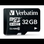 Verbatim 32GB microSDHC 32GB MicroSDHC Class 10 memory card 44083