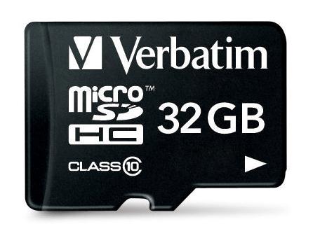 Verbatim 32GB microSDHC 32GB MicroSDHC Class 10 memory card