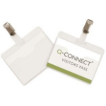 Q-CONNECT KF01560 identity badge/badge holder 25 pc(s)