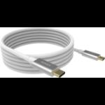 Vision TC 4MUSBC USB cable 4 m USB 3.2 Gen 2 (3.1 Gen 2) USB C White