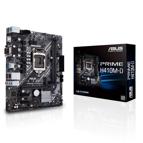 ASUS PRIME H410M-D Intel H410 micro ATX
