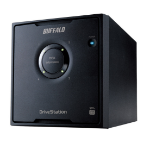 Buffalo DriveStation Quad USB 3.0 12TB disk array Desktop Zwart