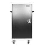 Leba NoteCart Unifit 16 Portable device management cart Black