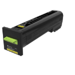 Lexmark 72K1XY0 toner cartridge Original Yellow 1 pcs
