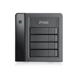Promise Technology Pegasus3 Symply Edition R4 12000GB Thunderbolt 3 Tower Black disk array