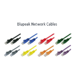 BLUPEAK 50cm CAT 6 UTP LAN Cable - Blue