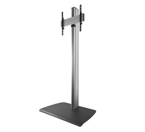 "B-Tech BTF840 65"" Portable flat panel floor stand Black, Silver flat panel floorstand"