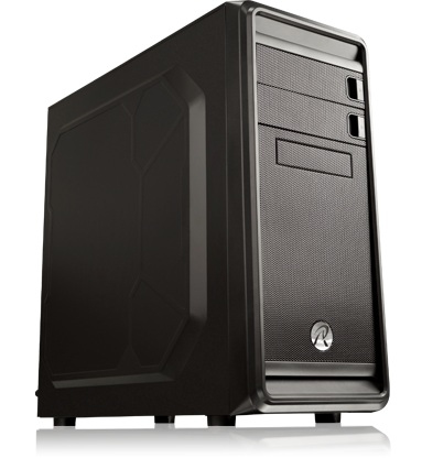 RAIJINTEK Arcadia Midi-Tower Black computer case