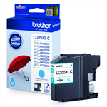 Brother LC-225XLC Ink cartridge cyan, 1.2K pages, 12ml