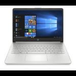 "HP 14s-dq2035TU Notebook 35.6 cm (14"") 1366 x 768 pixels 11th gen Intel® Core™ i3 DDR4-SDRAM 256 GB SSD Wi-Fi 6 (802.11ax) Windows 10 Home Gold, Silver"
