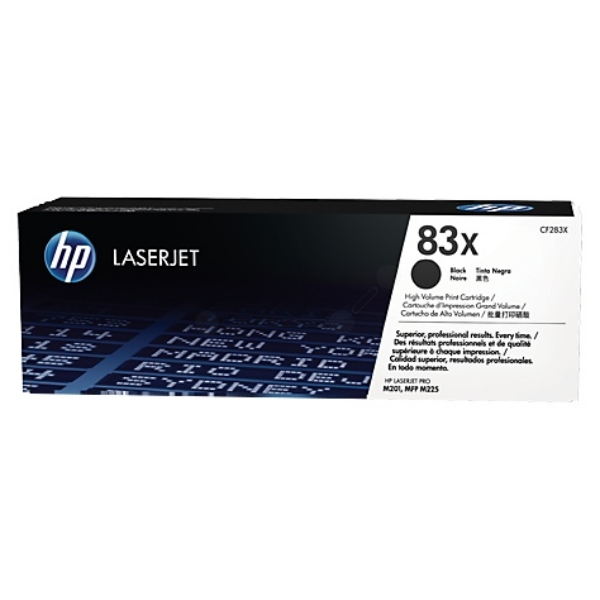 HP CF283X (83X) Toner black, 2.2K pages
