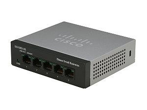 Cisco Small Business SF110D-05 No administrado L2 Fast Ethernet (10/100) Negro