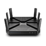 TP-LINK AC4000 wireless router Dual-band (2.4 GHz / 5 GHz) 10 Gigabit Ethernet White