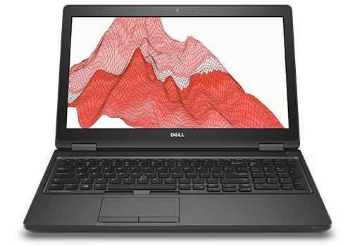 "DELL Precision M3520 2.7GHz i7-6820HQ 15.6"" 1920 x 1080pixels Black Mobile workstation"