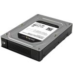 "StarTech.com 35SAT225S3R HDD/SSD enclosure 2.5"" Black,Silver storage enclosure"