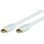Microconnect MDPMDP1 DisplayPort cable 1 m Mini Displayport White