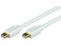 Microconnect MDPMDP1 1m Mini Displayport Mini Displayport White DisplayPort cable