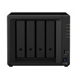 Synology DiskStation DS918+ Ethernet LAN Desktop Black NAS
