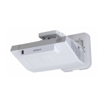 Hitachi CP-AX2505 Projector - 2700 Lumens - XGA - 4:3 - UST Inc Wall Bracket