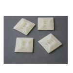 StarTech.com Self-adhesive Cable Tie Mounts - Pkg. of 100 White