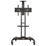 "VivoLink VLFS3265 flat panel floorstand 165.1 cm (65"") Portable flat panel floor stand Black"