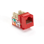 Black Box FM637C-25PAK socket-outlet RJ-45 Red