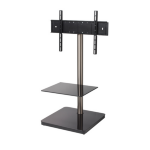 B-Tech Flat Screen TV Stand with Square Base