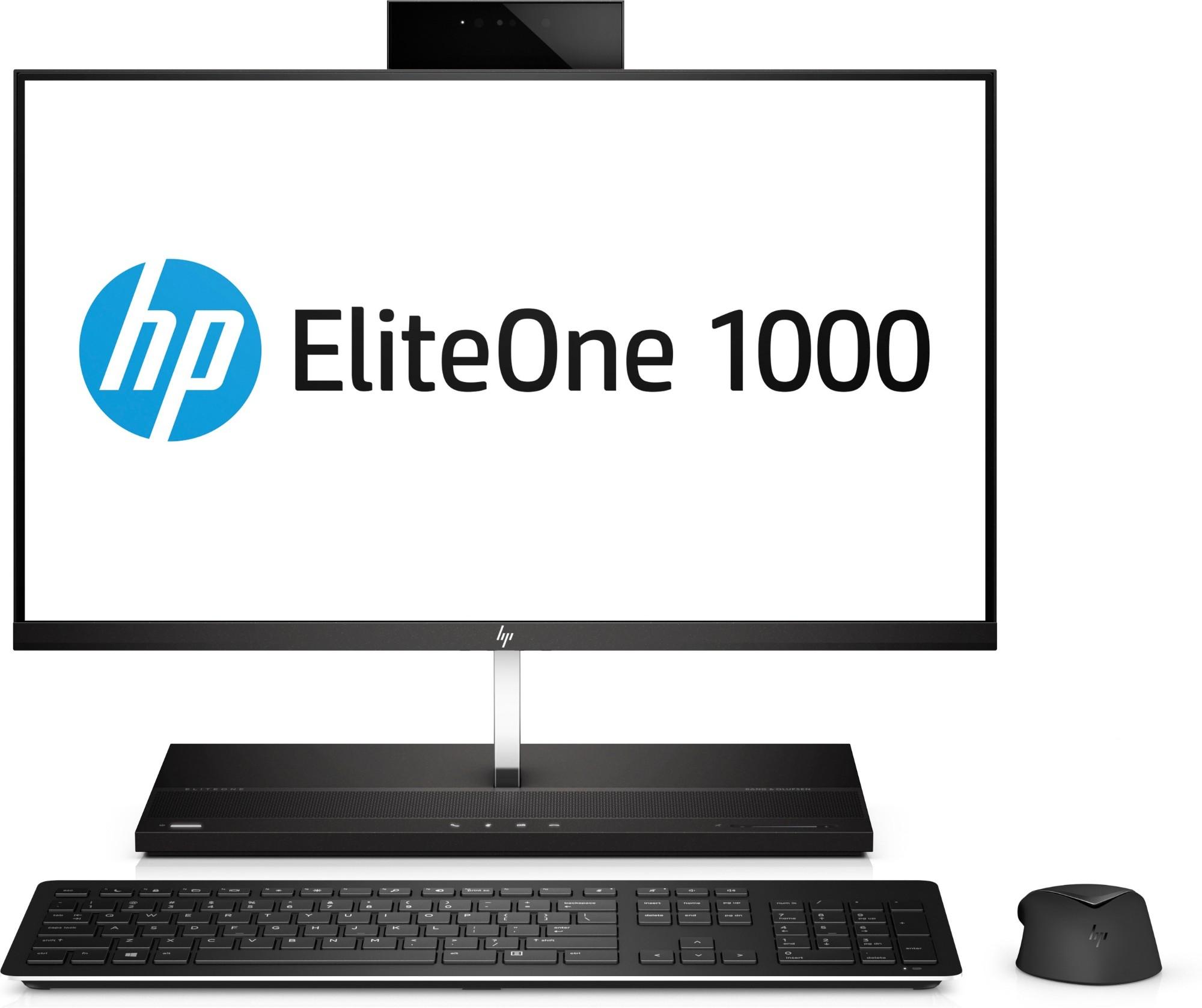 "HP EliteOne 1000 G2 60.5 cm (23.8"") 1920 x 1080 pixels Touchscreen 8th gen Intel® Core™ i5 i5-8500 8 GB DDR4-SDRAM 256 GB SSD Black All-in-One PC"