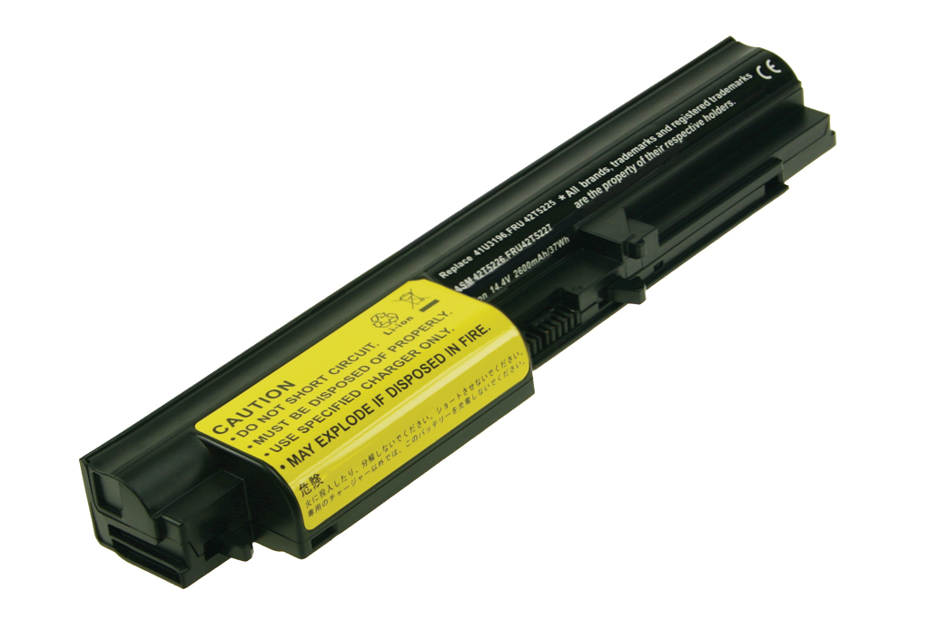 2-Power 14.4v, 4 cell, 37Wh Laptop Battery - replaces 42T5226