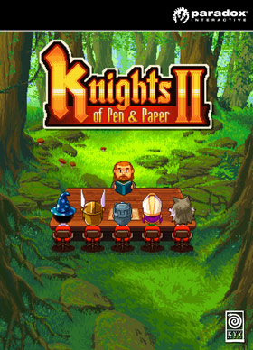 Nexway Act Key/Knights of Pen and Paper II Video game downloadable content (DLC) PC/Mac/Linux Knights of Pen and Paper II - Here Be Dragons Español