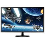 "ASUS VP28UQG 28"" 4K Ultra HD Black Flat computer monitor"