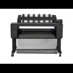 HP Designjet T930 36-in Color Inyección de tinta térmica 2400 x 1200DPI A0 (841 x 1189 mm) Negro impresora de gran formato